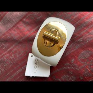COACH CUFF Resin bangle Bracelet NEW